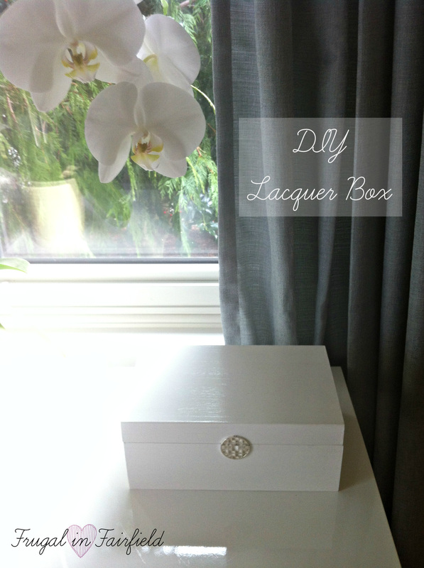 DIY Lacquer Box Tutorial|Frugal in Fairfield