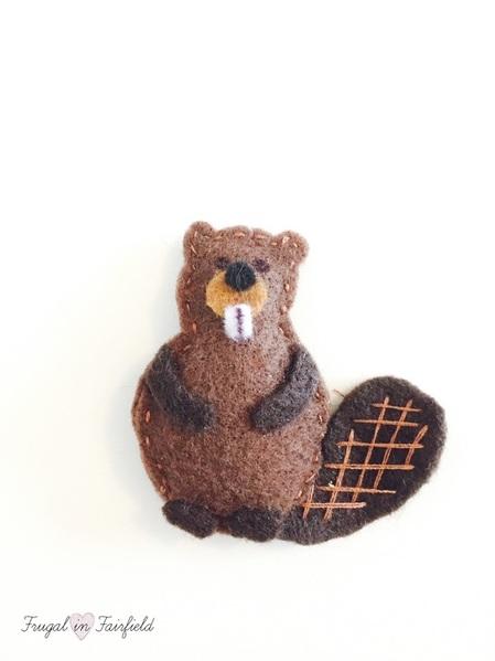 how to make beaver felt