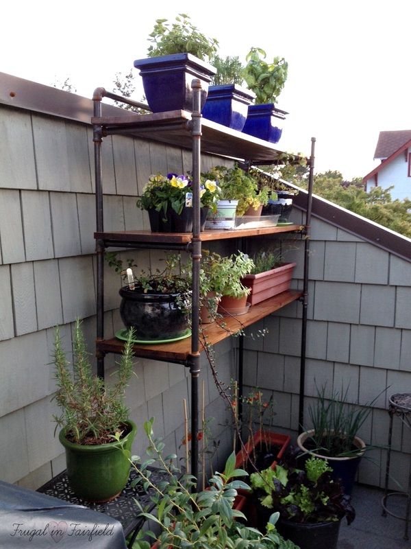 DIY Pipe Shelves | Frugal in Fairfield